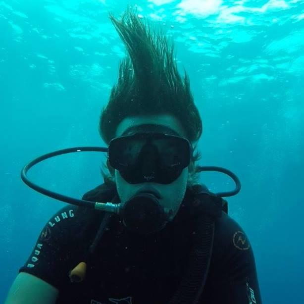 scuda diving